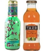 Arizona and Tazo tea