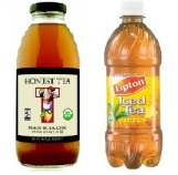 Honest and Lipton tea