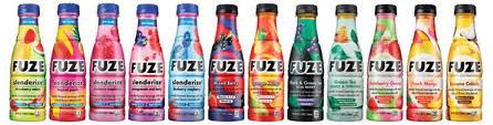 Fuze lineup - courtesy of foodbizdaily.com