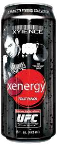 Xenergy Fruit Punch Dan Hardy