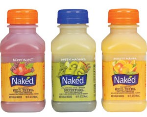 Naked Juice 10oz bottle