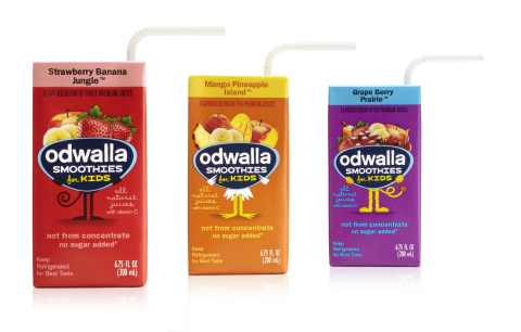 Odwalla Smoothies for Kids - courtesy of bevbet.com